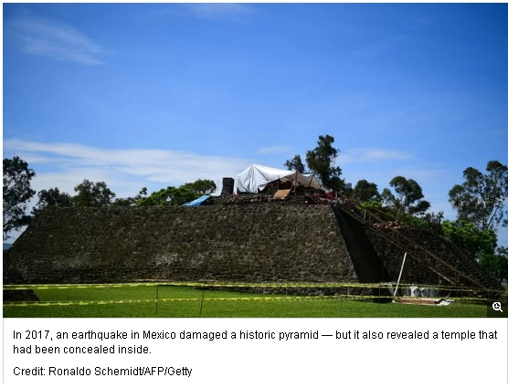 A Hidden Ancient Temple Revealed After Earthquake