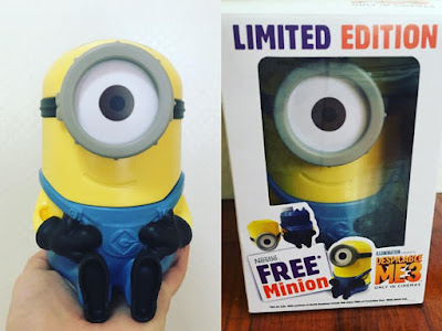 Nestle Malaysia Free Limited Edition Despicable Me 3 Minion