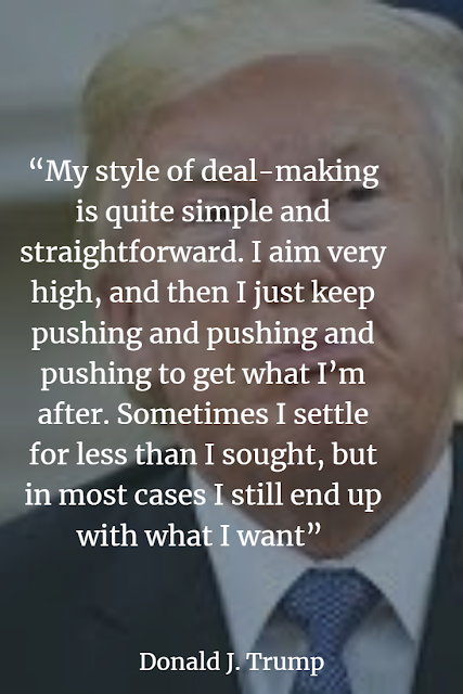 Donald Trump quote about success