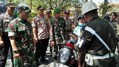 Sebagai Pintu Masuknya Bali, Tim Gabungan Gelar Opsgab di Jembrana