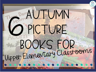 autumn fall picture books upper elementary