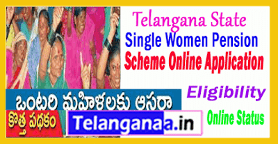 Single Women Pension Scheme in Telangana Online Apply / Eligibility / Status