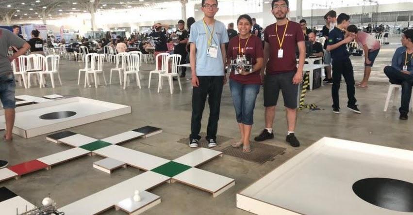 UCSP: Estudiantes de la Universidad Católica San Pablo de Arequipa, ganan premio internacional en robótica realizó en Brasil