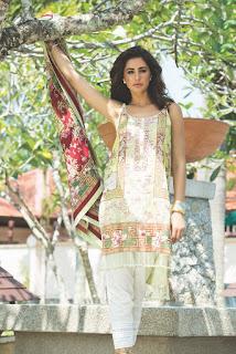 Nargis Fakhri Models For Pakistani Desighner Shehla Chatoor