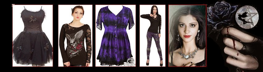 Ladies Gothic Clothing