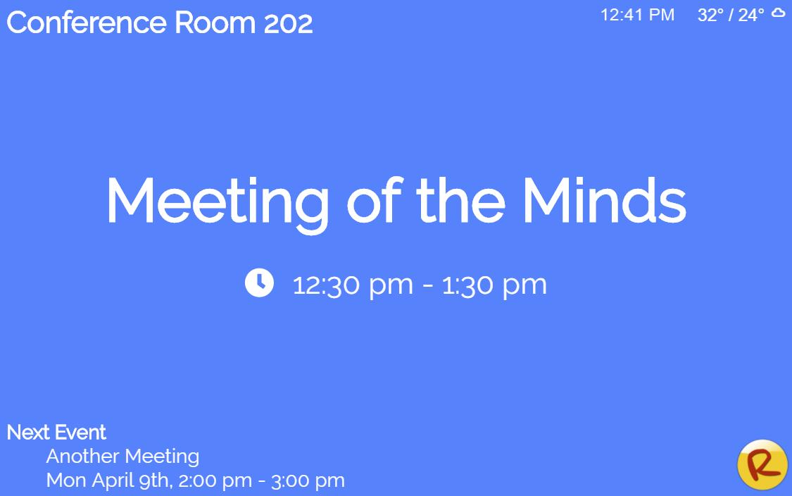 Reveldigital Blog New Gadgets Meeting Room Mini Weather