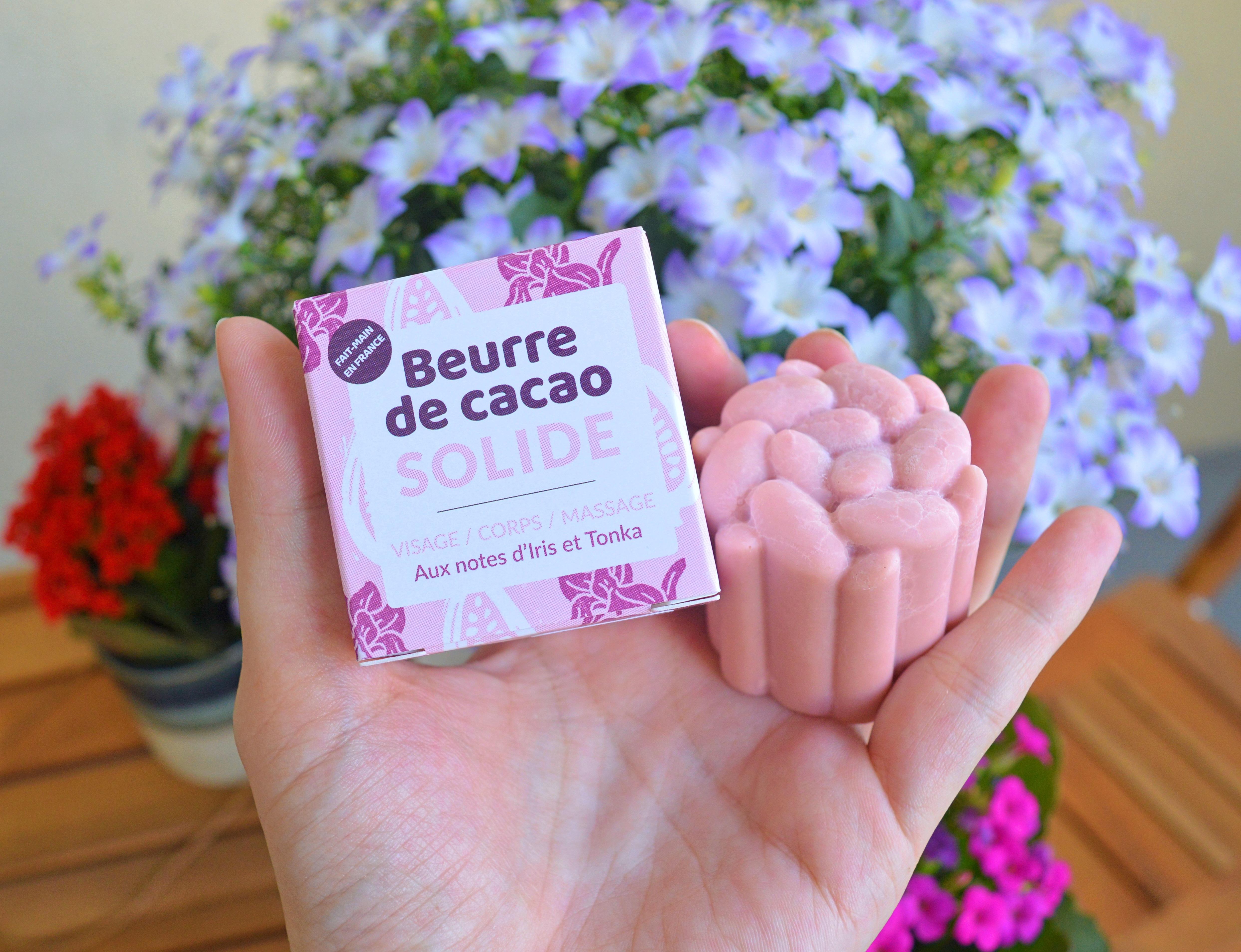 Beurre de cacao rose solide Lamazuna