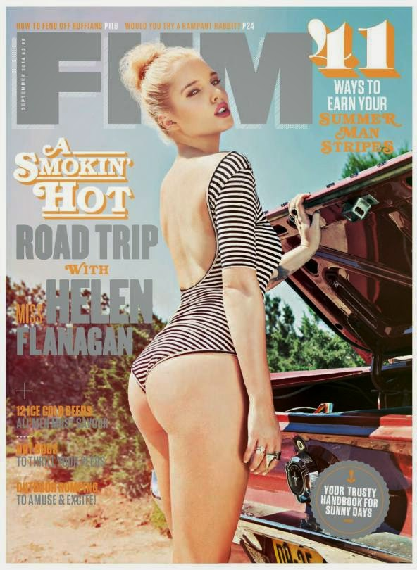 HELEN FLANAGAN COVER GIRL  – FHM UK MAGAZINE