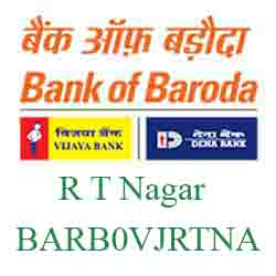 Vijaya Baroda Bank R T Nagar, Bangalore Branch New IFSC, MICR