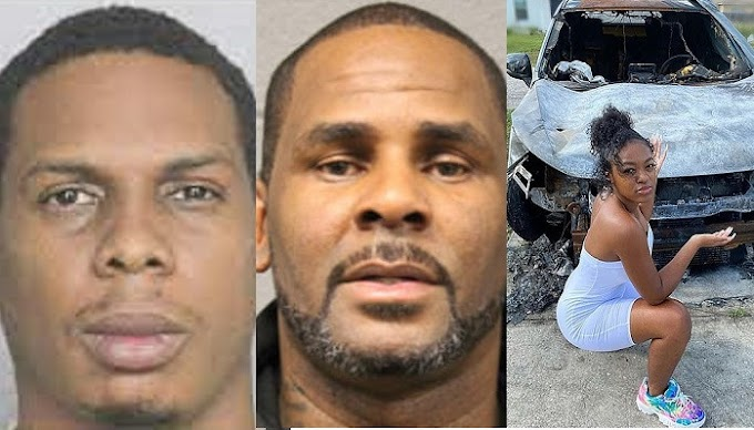 R.Kelly's associate pleads guilty to arson after setting his accuser's SUV on fire