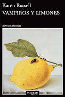 Portada de Vampiros y limones de Karen Russell