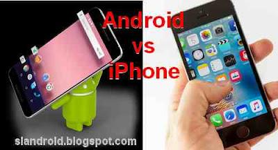 Beberapa Kelebihan HP Android dibanding iPhone