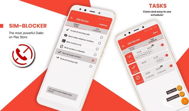 قم بتنزيل SIM-Blocker & Call-Blocker  - تطبيق بسيط لحظر المكالمات والرسائل المجهولة على هاتفك الاندرويد