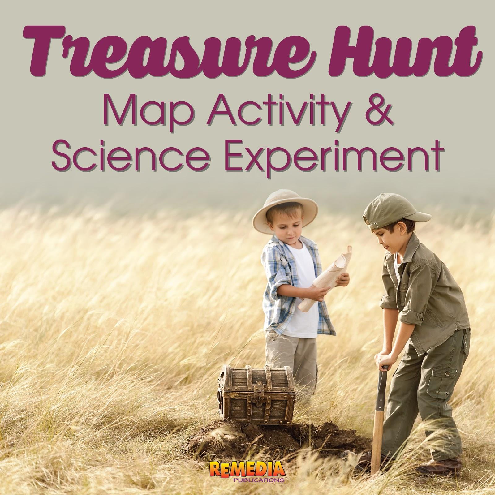 Remedia Publications Treasure Hunt Map Activity