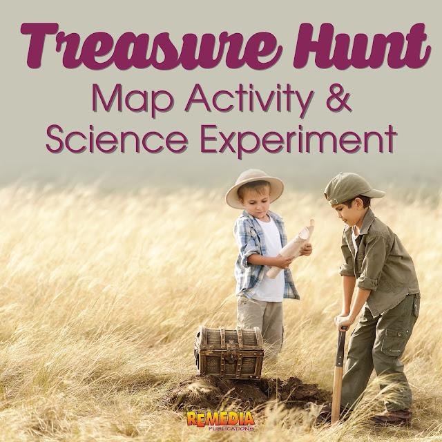 Treasure Hung: Map Activity & Science Experiment   Remedia Publications