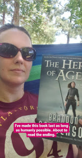 The Hero of Ages by Brandon Sanderson Status