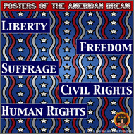 https://www.teacherspayteachers.com/Product/American-Dream-Posters-Fighting-for-Liberty-Freedom-Rights-kindnessnation-2949653