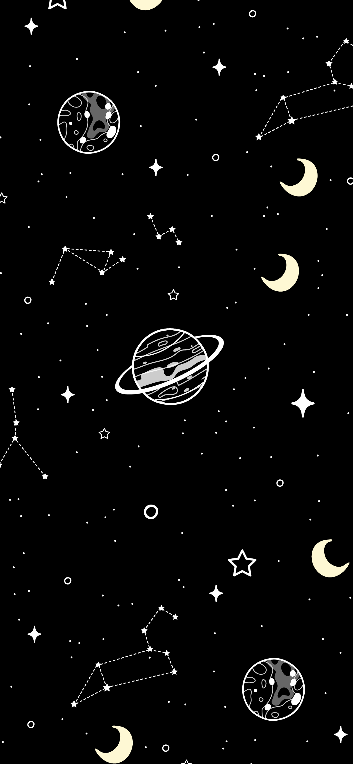 amoled galaxy black background wallpaper iphone 4k moon and planets