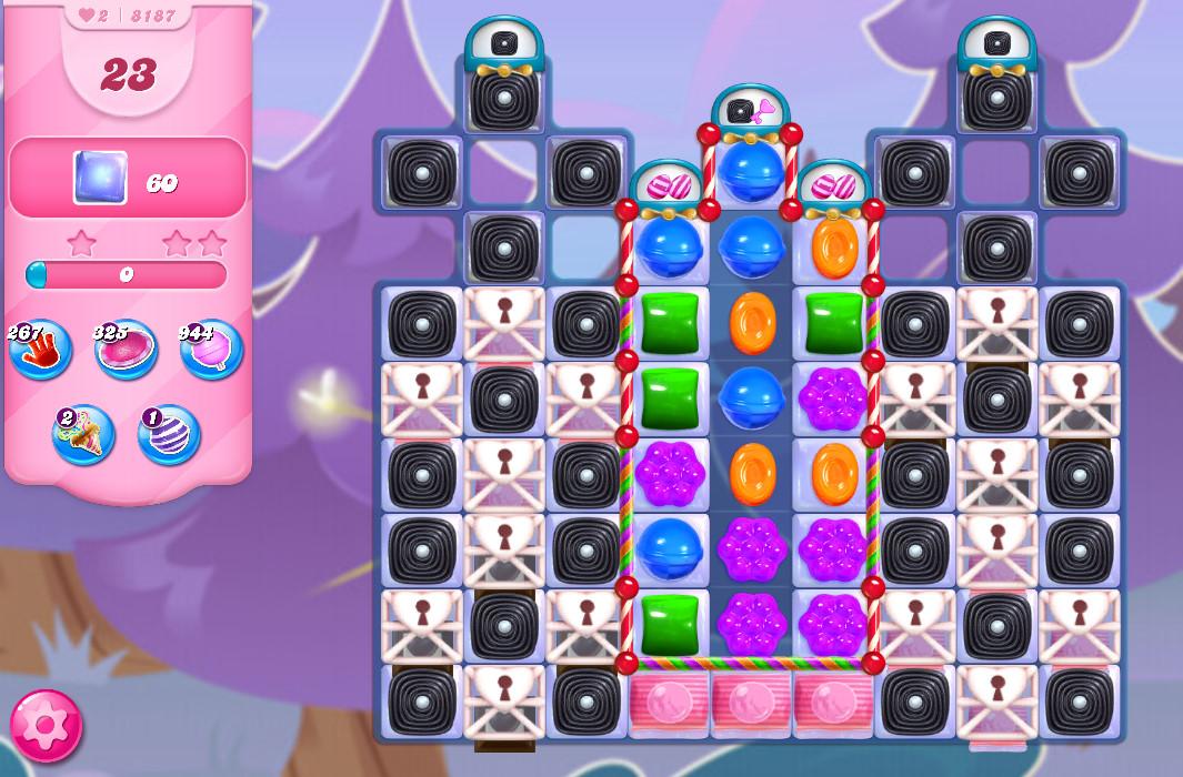 Candy Crush Saga level 8187