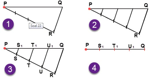 jawaban No 22  esai Uji Kompetensi 7 Matematika kelas 7