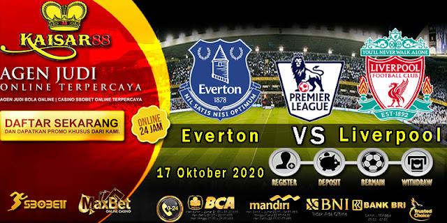 Prediski Bola Terpercaya Liga Inggris Everton vs Liverpool 17 Oktober 2020