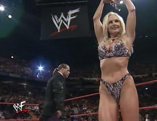 WWE / WWF Rock Bottom 98 - In Your House 26 - Debra Strips