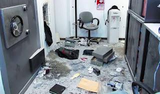 La Cámara de seguridad del Banco Rio en Acassuso