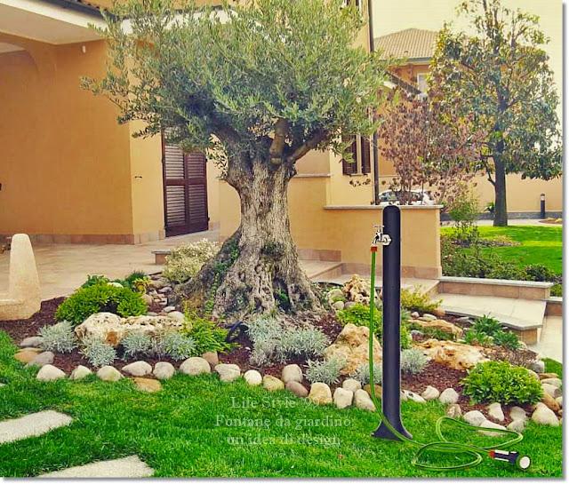 Fontane da giardino: un'idea di design