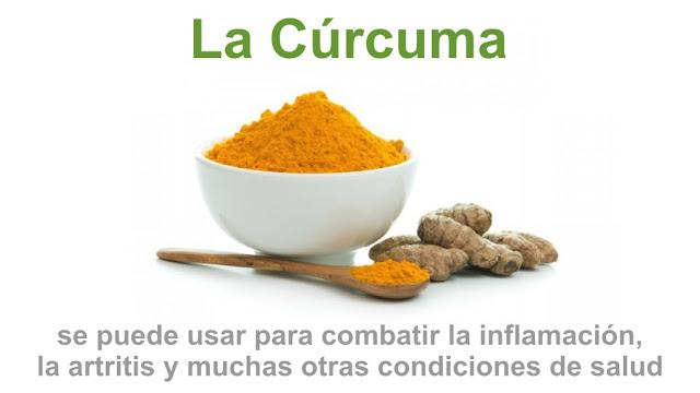 La cúrcuma se puede usar para combatir la inflamación, la artritis y muchas otras condiciones de salud