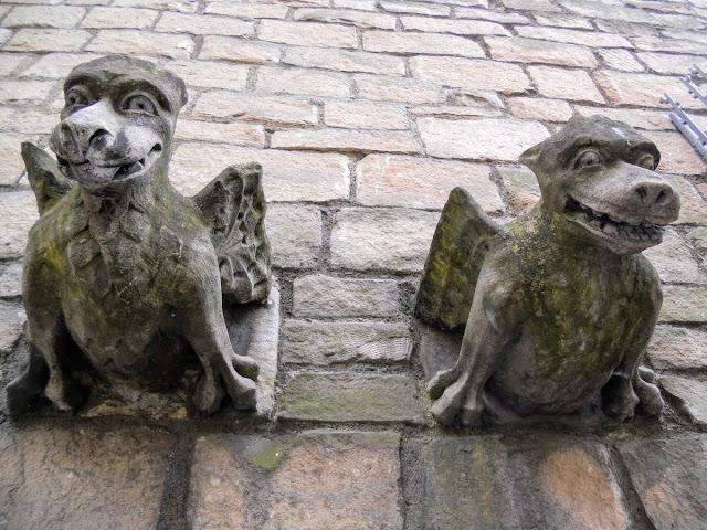 Gargoyles in York England