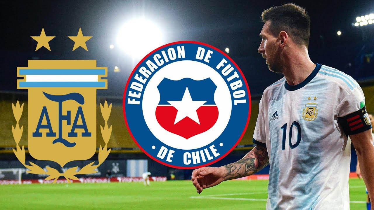 بث مباشر مباراة الارجنتين وتشيلي