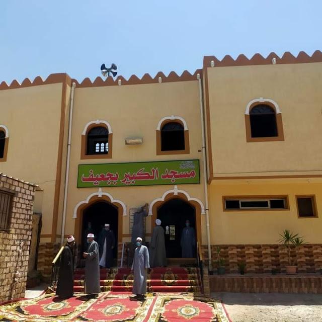 إفتتاح ٥ مساجد جديدة بدمنهور وكفر الدوار وإيتاي البارود وشبراخيت بتكلفة تجاوزت ٦.٥ مليون جنية .
