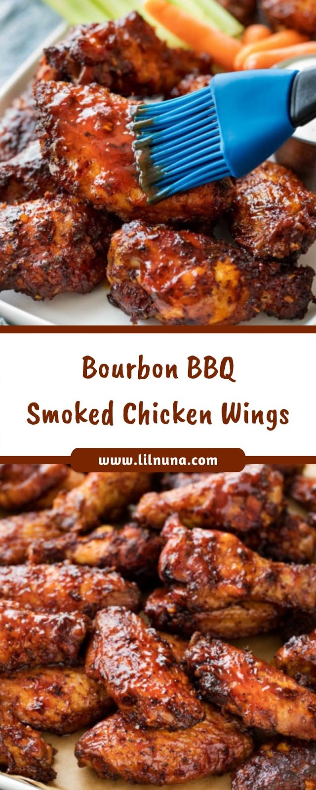 Bourbon BBQ Smoked Chicken Wings