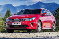 Kia Optima Sportswagon GT-Line S (2017) Front Side