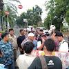 HUT Kabupaten Tangerang Ke-76    Mahasiswa Gelar Aksi Damai  Di Hadang Ormas