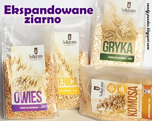 Ekspandowana pszenica/orkisz/owies/komosa/gryka - Soligrano