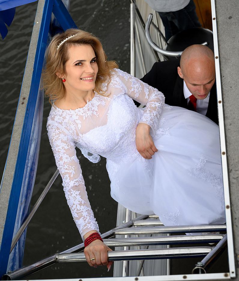 vestuvės prie Ekrano marių