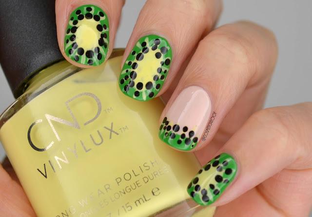 Kiwi Nail Art