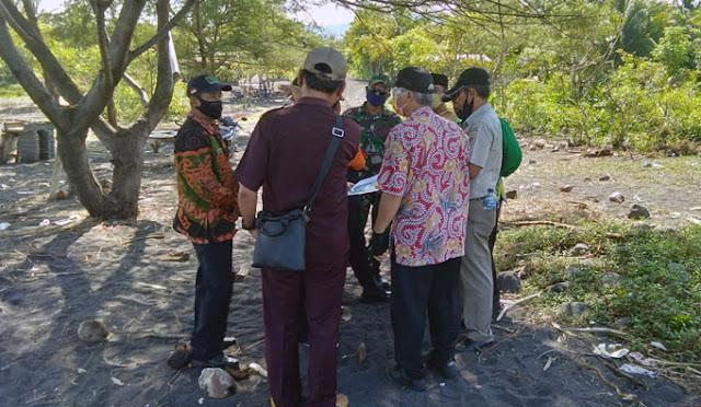 Pemetaan relokasi pada pemukiman yang terdampak abrasi