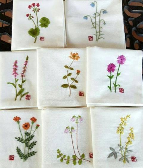 Mẫu thêu hoa nhí đẹp - Hinh 12