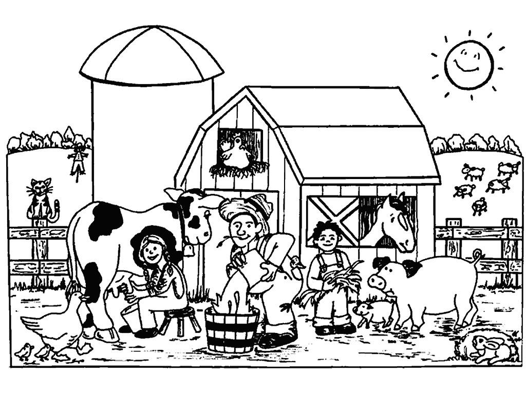 Gambar Gambar Mewarnai Untuk Anak II Pemandangan Tempatnya