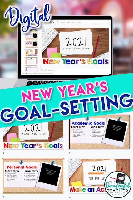 A Goal-Setting and Reflection Activity for the Secondary Classroom: A digital and free activity