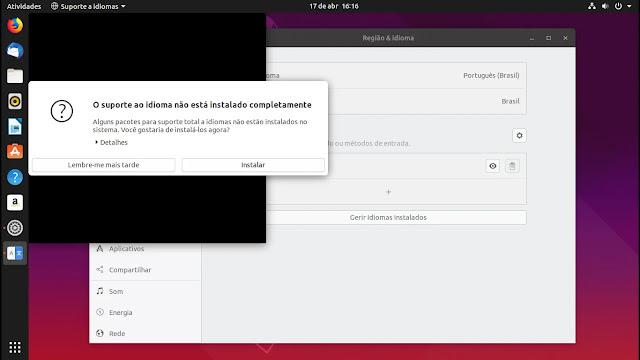 idioma-pt-brasil-canonical-lançamento-linux-ubuntu-disco-dingo-1904-19-04-gnome-shell-yaru-tema