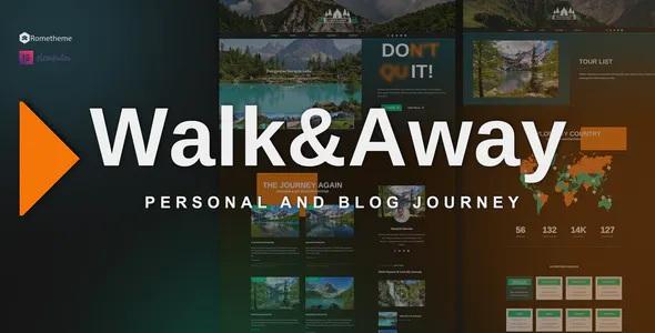 Best Travel Blog & Tours Elementor Template Kit