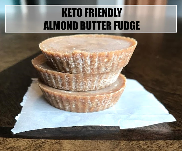 Keto Friendly Almond Butter Fudge! ONLY 2 Ingredients!