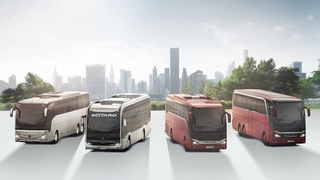 Daimler: un mayor intercambio de aire con filtros activos aumenta la seguridad en los autobuses