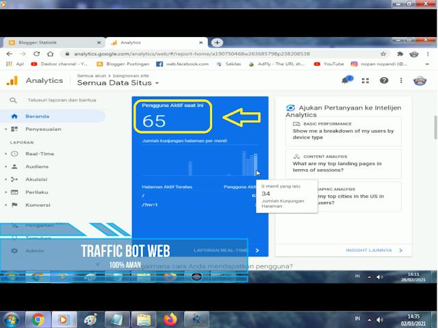 Tutorial menggunakan diabolic traffic web