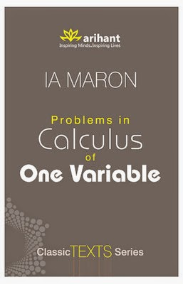 Problems In Calculus Of One Variable By I.a.maron Download