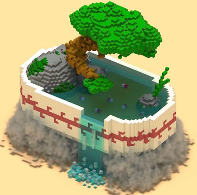Voxel Art of the Month - July