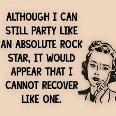 I can still party...